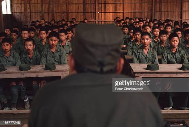 The world's most powerful drug baron Khun Sa addresses young raw recruits into his Mong Thai Army Khun Sa's name translates to 'Prince of Prosperity'...