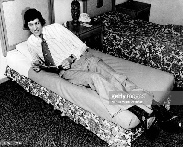 The Worlds Tallest Mobile Man, according to the Guinness Book records arrived in Sydney Sunday. He is Christopher Paul Greener from England. Chris is...