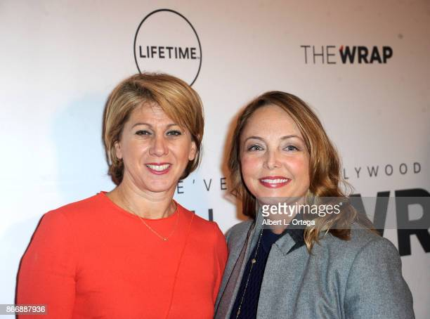 The Wrap's CEO/Editor-In-Chief Sharon Waxman and Louisette Geiss arrive for TheWrap's Power Women the opening night of the Mallorca International...