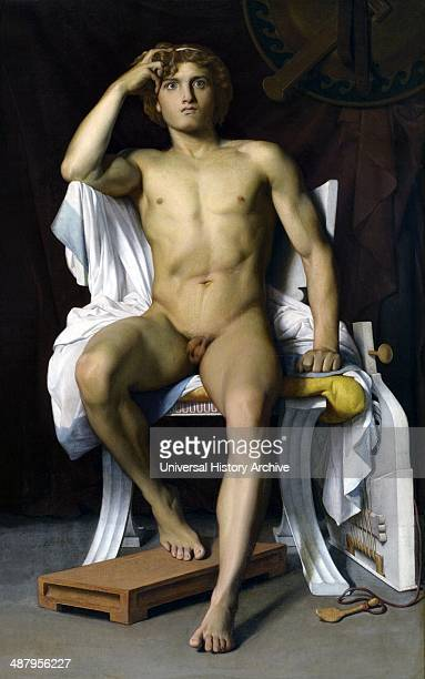 The Wrath of Achilles by FrançoisLéon Benouville FrançoisLéon Benouville French painter