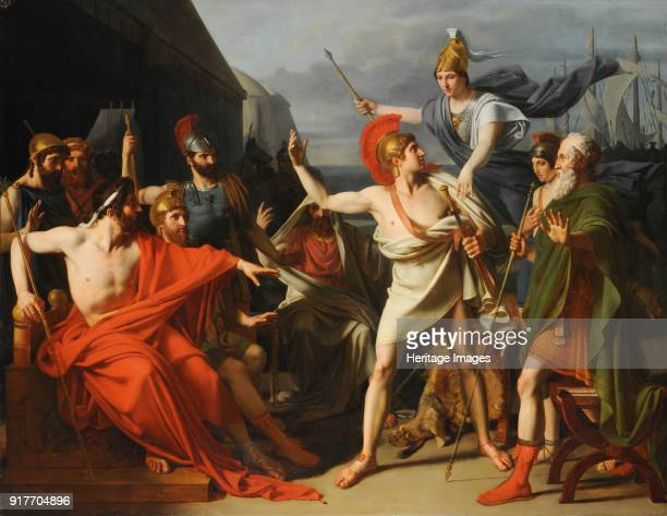 The Wrath of Achilles Found in the Collection of École nationale supérieure des beauxarts Paris
