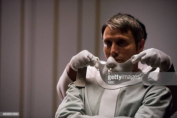 HANNIBAL 'The Wrath of the Lamb' Episode 313 Pictured Mads Mikkelsen as Hannibal Lecter