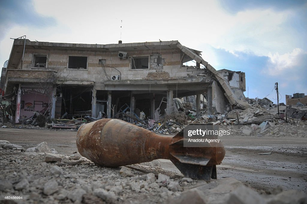 Inside Kobani After Being Freed From ISIL : News Photo