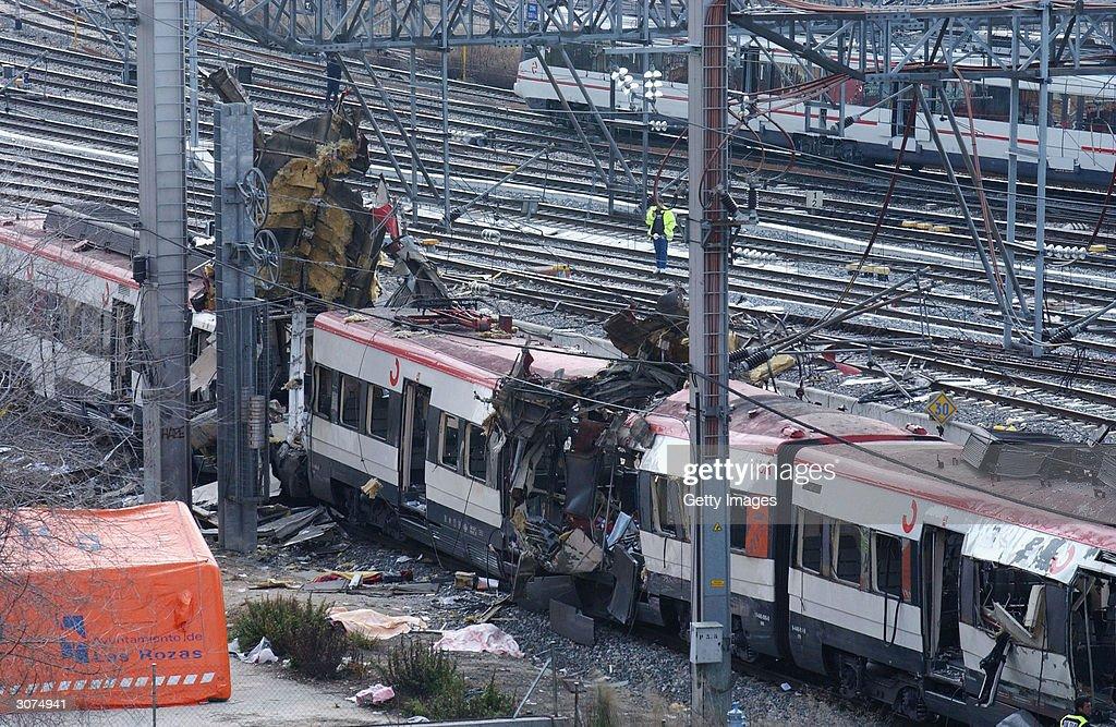 Madrid Train Blasts Cause Devastation : News Photo