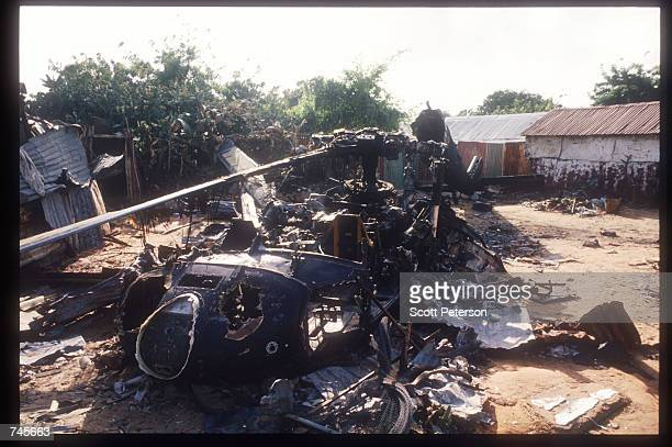 https://media.gettyimages.com/photos/the-wreckage-of-an-american-helicopter-sits-october-14-1993-in-this-picture-id745663?s=612x612 Black Hawk Down Movie Helicopter Crash