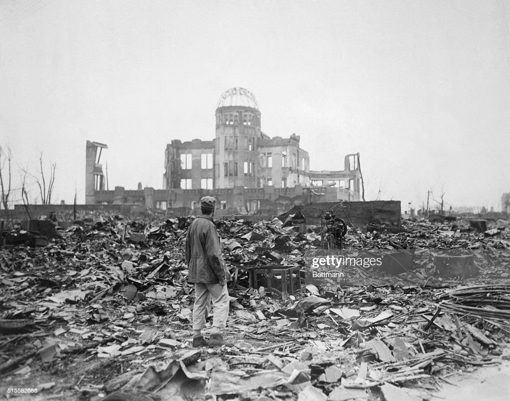 Ruins of Hiroshima's Museum of Science and Technology : Foto jornalística