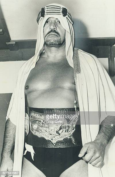 The wrestling game's sheik He'll teach Muhammad Ali a few new tricks