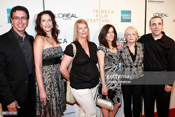 The writer Adrienne Shelly's family attends the premiere of 'Serious Moonlight' during the 8th Annual Tribeca Film Festival at BMCC Tribeca...