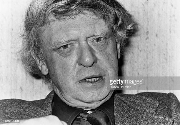 The writer Anthony Burgess whose works include A Clockwork Orange 1980