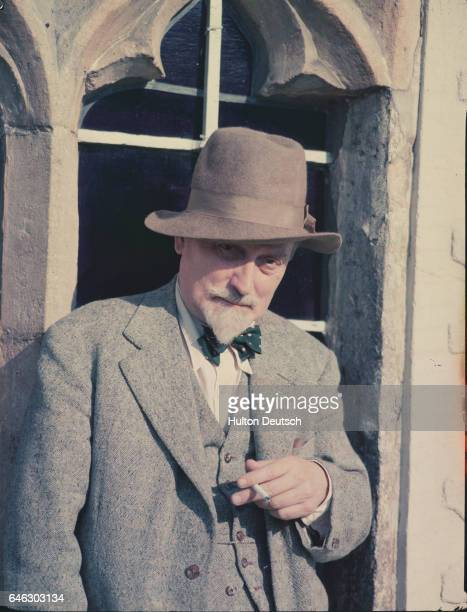 The writer Compton Mackenzie , the author of many novels including the popular Whiskey Galore . 1952.