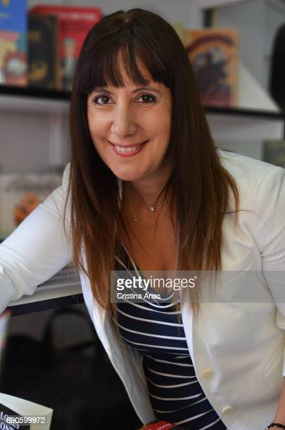 The writer Dolores Redondo attends Book Fair 2016 at El Retiro Park on May 28 2017 in Madrid Spain
