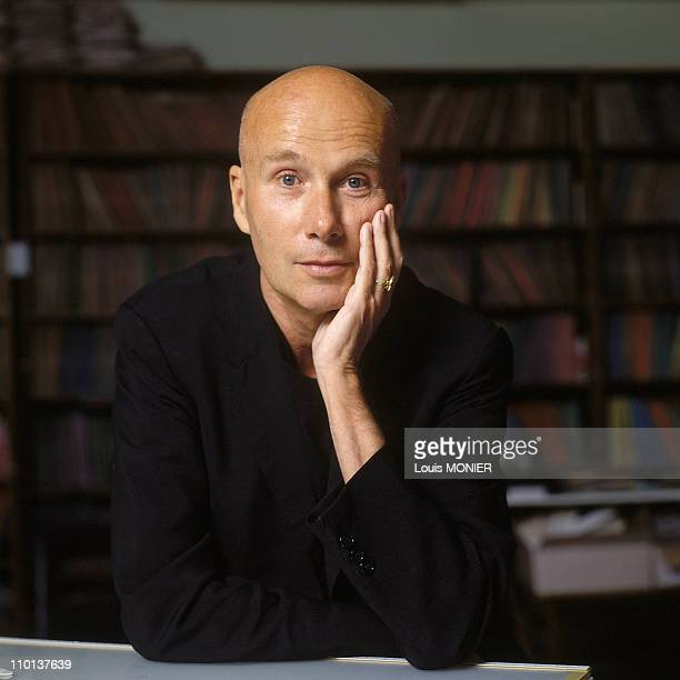 The writer Gabriel Matzneff in France in June 1994