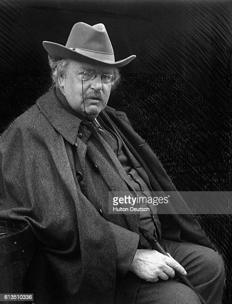 The writer GK Chesterton whilst on holiday in Bruges He is the best known as the author of the popular detective stories featuring the priest Father...