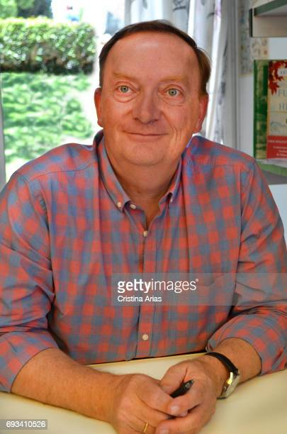The writer Gonzalo Giner attends Book Fair 2017 at El Retiro Park on June 3 2017 in Madrid Spain