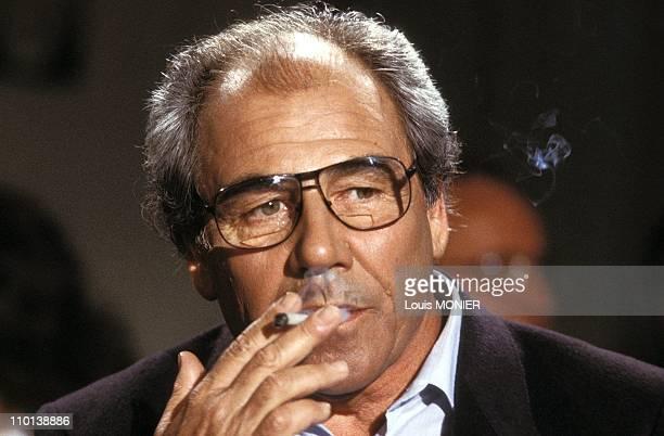 The writer Jean Baudrillard in France in June, 1987.