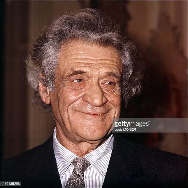 The writer Joseph Kessel in France in February 1997