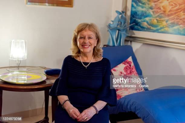 The writer Paola Sorge author of the book 'Fidel In Love The great secret love of Lider Maximo' on July 3 2020 in Rome Italy The book tells the story...