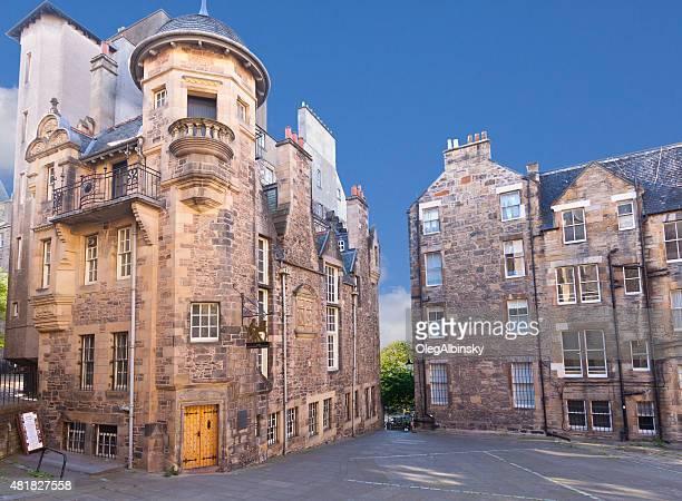 il museo degli scrittori, royal mile, edinburgh, regno unito. - authors foto e immagini stock