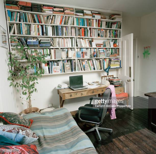 The writing room at the home of English author Joanna Briscoe in north London, circa 2007. For this series of images, award-winning photographer...