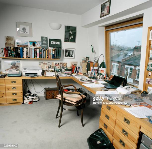 The writing room at the home of English director Richard Eyre in London, circa September 2008. For this series of images, award-winning photographer...