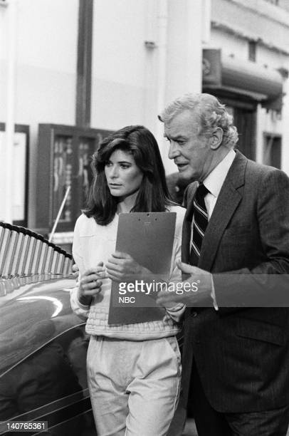 RIDER The Wrong Crowd Episode 5 Pictured Patricia McPherson as Bonnie Barstow Edward Mulhare as Devon Miles Photo by Bud Gray/NBCU Photo Bank