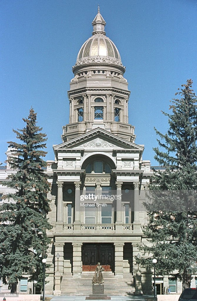 The Wyoming State Capitol building is seen March 6, 2001 in