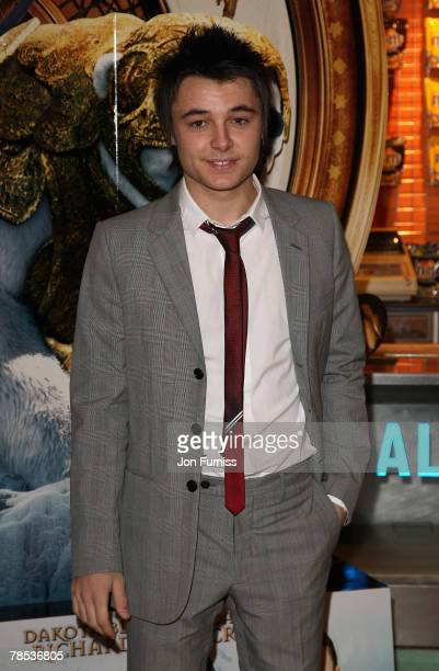 The X Factor contestant Leon Jackson attends The Golden Compass world premiere held at the Odeon Leicester Square on November 27 2007 in London...