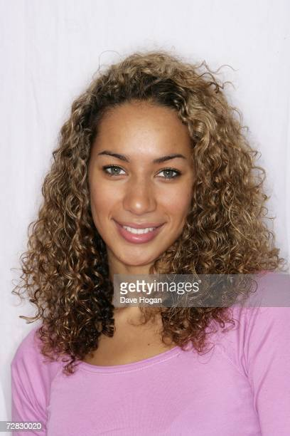 The X Factor finalist Leona Lewis poses for a portrait shoot in Wapping on December 13 2006 in London England Leona Lewis went on to win the final...