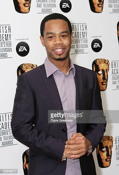The XFactor contestant Robert Allen arrives at the 11th British Academy Children's Film Television Awards at the Park Lane Hilton hotel on November...