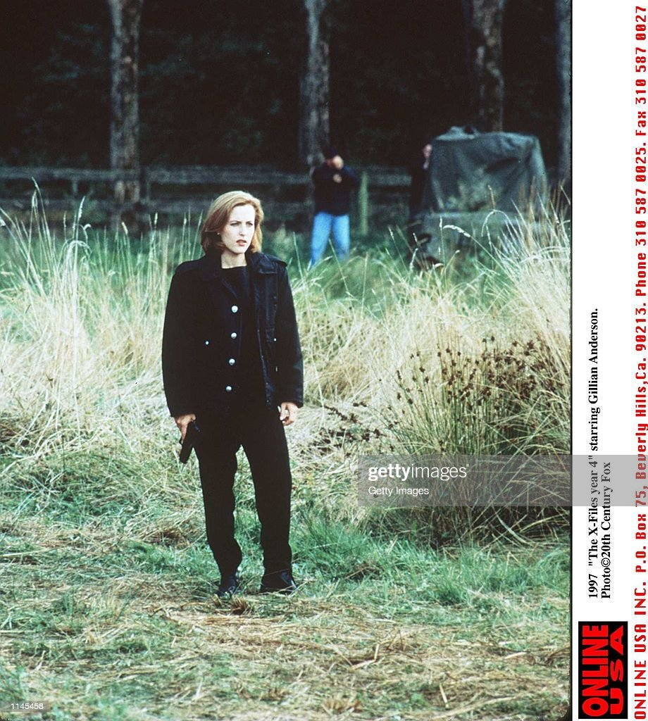 "1997 ""The X-Files Year 4"" starring Gillian Anderson : News Photo"