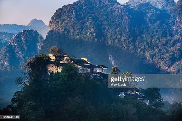 The xifeng Peng Gu ancestral temple of south Chinas guangdong province