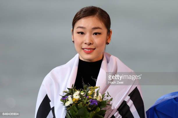 The XXII Winter Olympic Games 2014 in Sotchi Olympics Olympische Winterspiele Sotschi 2014 Yuna Kim of South Korea performs her free skating program...