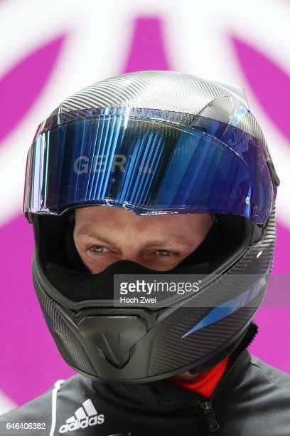 The XXII Winter Olympic Games 2014 in Sotchi Olympics Olympische Winterspiele Sotschi 2014 Official Training Fourman Bobsleigh Francesco Friedrich...