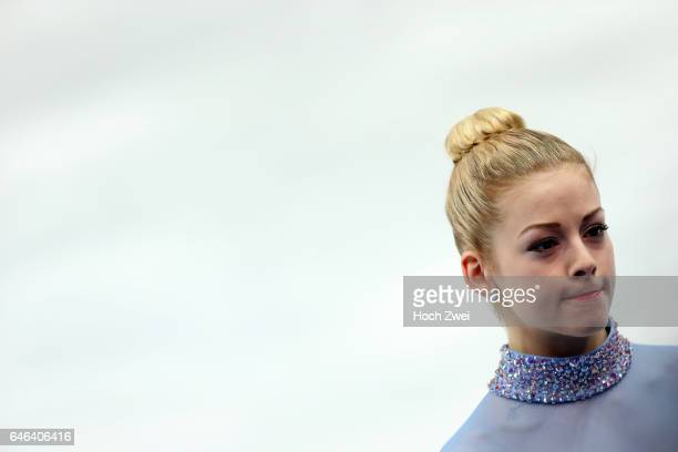 The XXII Winter Olympic Games 2014 in Sotchi Olympics Olympische Winterspiele Sotschi 2014 Gracie Gold performs her free skating program during the...