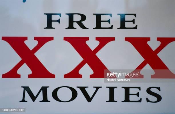 The xxx movies