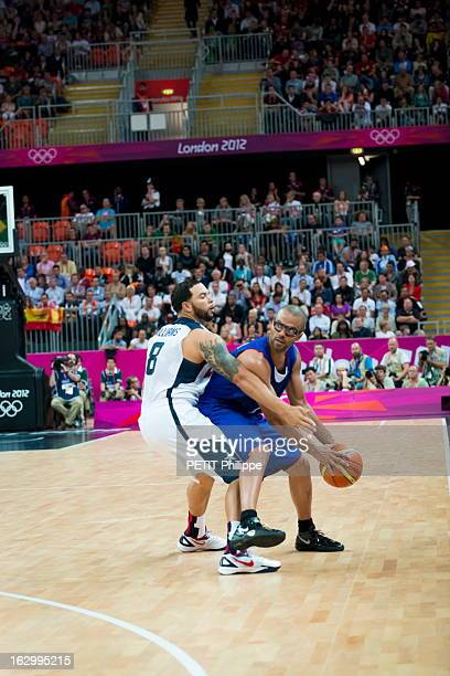 The Xxxth Summer Olympic Games In London 2012 Basketball JO de Londres 2012 Dimanche 29 juillet Match de basket ball EtatsUnis / France Victoire des...