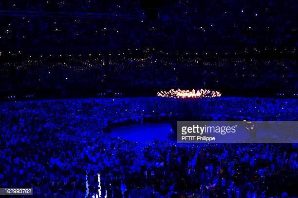 The Xxxth Summer Olympic Games In London 2012: Opening Ceremony. La cérémonie d'ouverture des 30èmes Jeux olympiques d'été de LONDRES 2012 : vue...