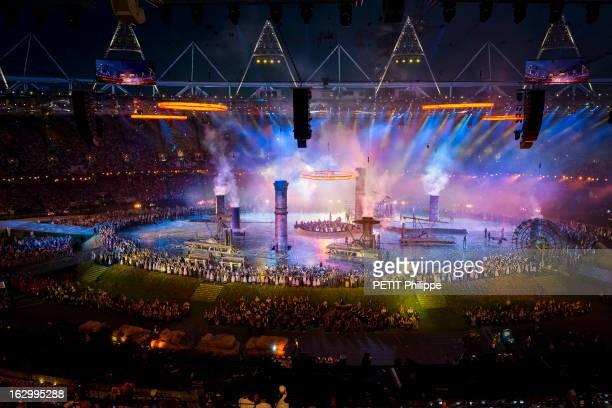 The Xxxth Summer Olympic Games In London 2012: Opening Ceremony. La cérémonie d'ouverture des 30èmes Jeux olympiques d'été de LONDRES 2012 :...