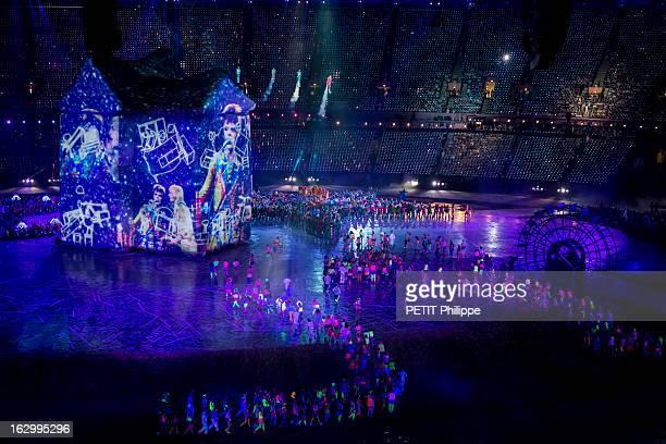 The Xxxth Summer Olympic Games In London 2012 Opening Ceremony La cérémonie d'ouverture des 30èmes Jeux olympiques d'été de LONDRES 2012 au stade de...