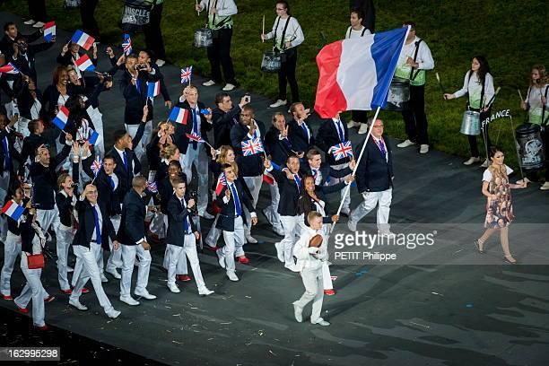 The Xxxth Summer Olympic Games In London 2012: Opening Ceremony. La cérémonie d'ouverture des 30èmes Jeux olympiques d'été de LONDRES 2012 : la...