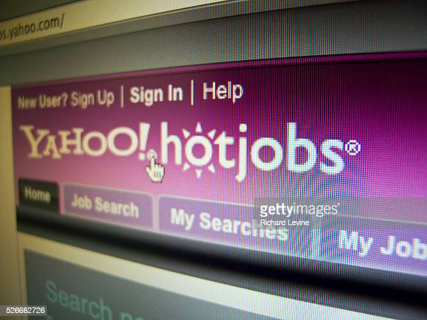 The Yahoo HotJobs website prior to its purchase by Monster Worldwide is seen on a computer screen on Thursday February 4 2010 Media reports that...