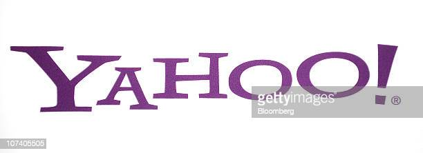 The Yahoo! Inc.company logo sits on display at Le Web 2010 conference in Paris, France, on Wednesday, Dec. 8, 2010. Yahoo! Inc. Chief Executive...