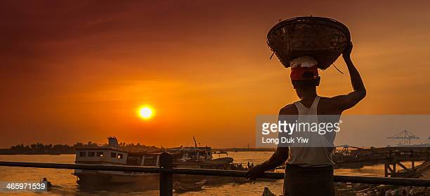 The Yangon River is formed by the confluence of the Pegu and Myitmaka rivers and is a marine estuary that runs from Yangon emptying into the Gulf of...
