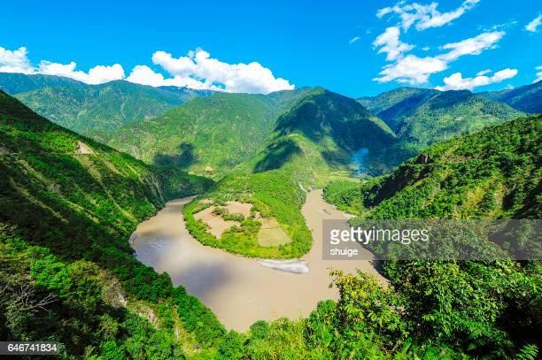 The Yangtze river first bay