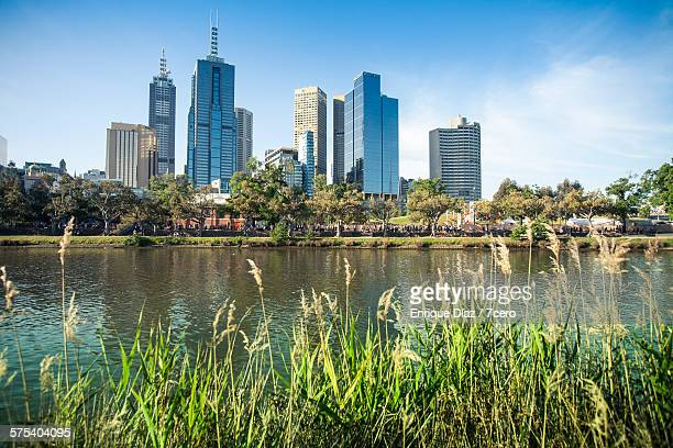 The Yarra River and CBD