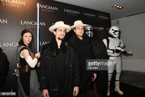 the YBros attend the Star Wars Party at Le Saint Fiacre on December 12 2017 in Paris France