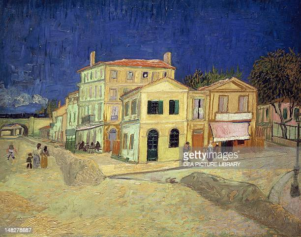 The yellow house by Vincent van Gogh oil on canvas 76x94 cm Amsterdam Van Gogh Museum