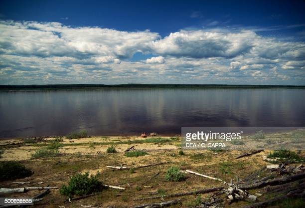 The Yenisei river Siberia Russia
