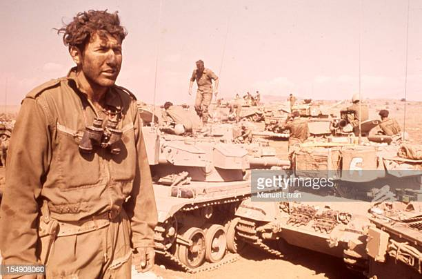The Yom Kippur War Front of Syria A Syrian soldier