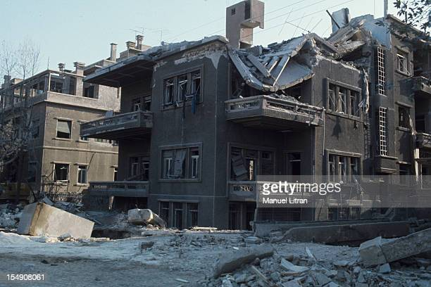 The Yom Kippur War Front of Syria Destroyed the Soviet Cultural Center in Damascus